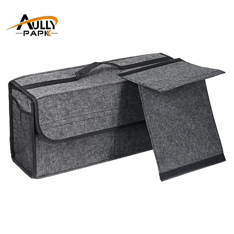 Car Felt Storage Box Trunk Bag <font><b>Vehicle</b></font> Tool Box Multi-use Tools Organizer Bag Carpet Folding Automobiles Interior Accessories