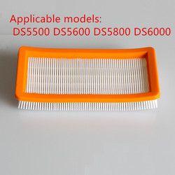 Моющийся фильтр Karcher для DS5500, DS6000, DS5600, DS5800 робот-пылесос запчасти Karcher 6,414-631,0 hepa фильтры
