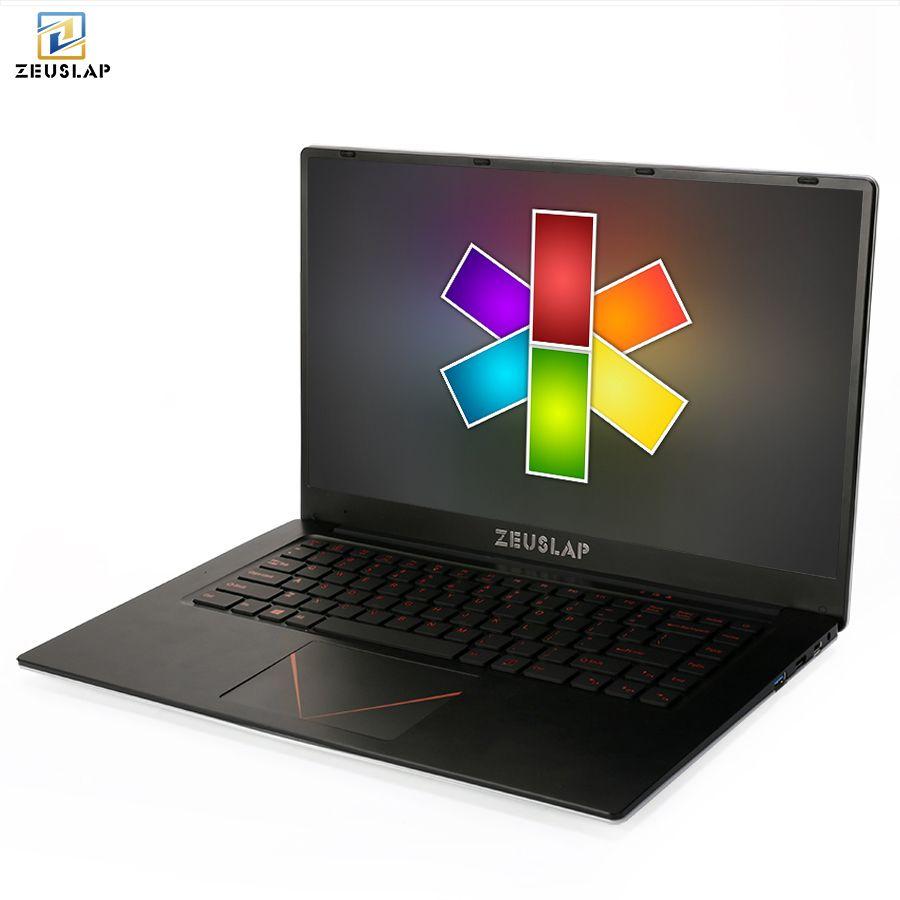 ZEUSLAP 15.6inch 1920*1080P IPS Screen 6gb ram 64gb 128gb 256gb 512gb ssd win 10 cheap Netbook Laptop Notebook Computer