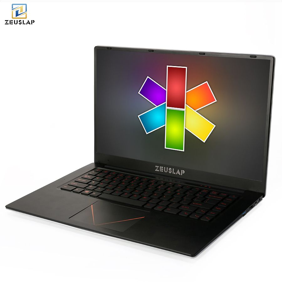 ZEUSLAP 15.6inch 1920*108P IPS 10000mAh battery 6gb ram 64gb 128gb 256gb 512gb ssd win 10 cheap Netbook Laptop Notebook Computer