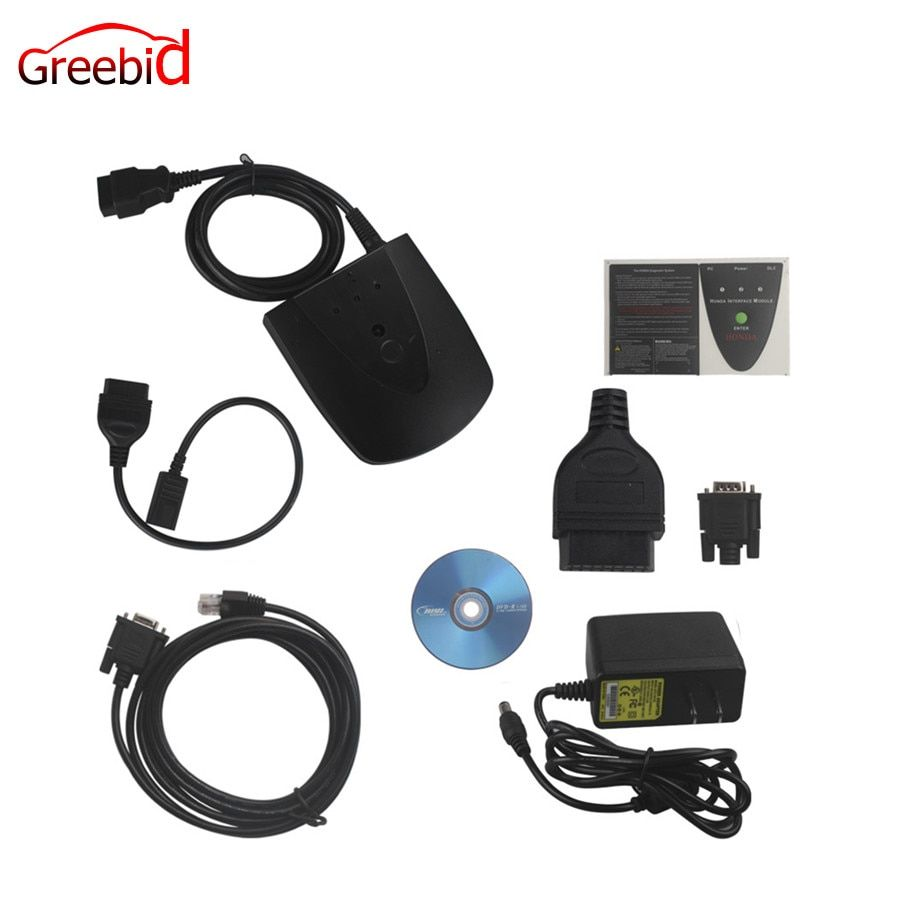 Newest Version V3.102.004 For Honda HDS HIM Diagnostic Tool With Double Board Supports CAN BUS System Fast Shipping