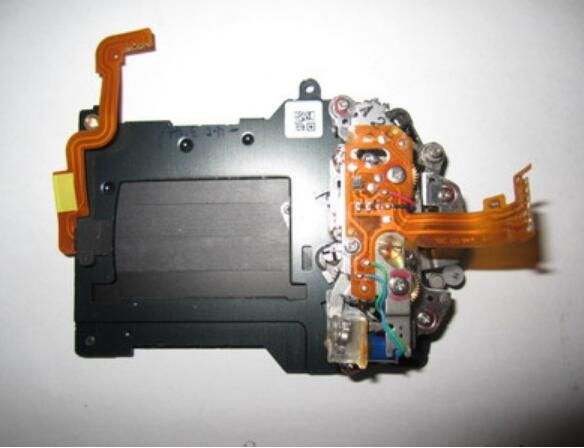 Shutter with curtain blade Assembly Unit Component Part for Nikon D3 Camera Repair Replace parts second hand