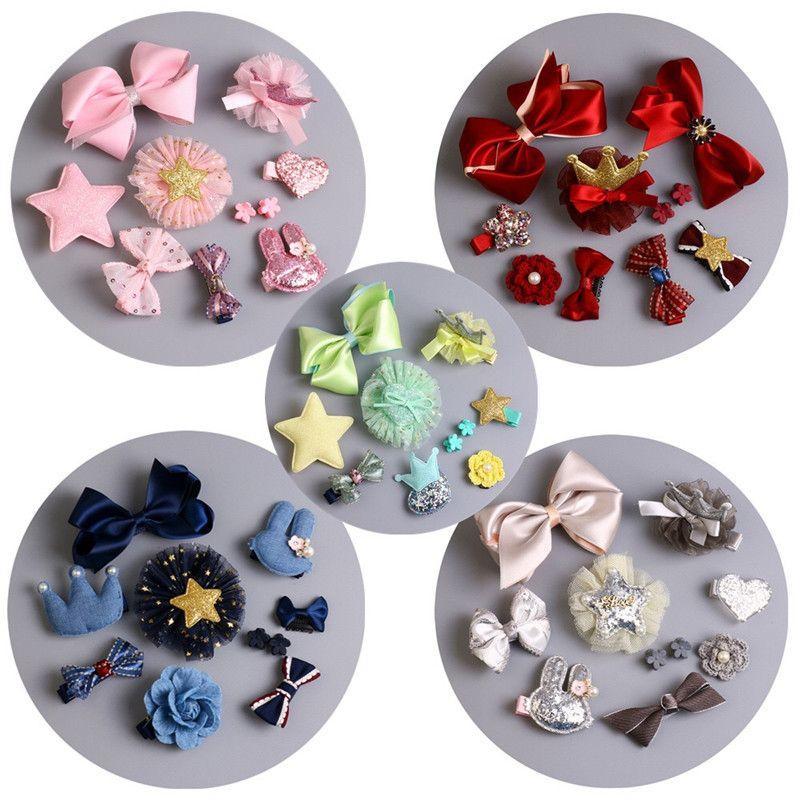 La Moda de Nueva coreano horquillas bebé del Arco del pelo clip Rosa flor corona cabello accesorios niños diadema princesa pu regalo