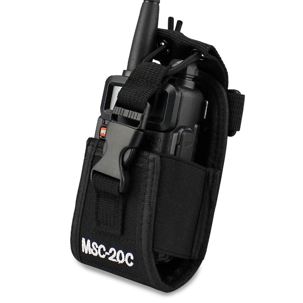 Abbree MSC-20C Multi-Fonction Radio Bidirectionnelle Titulaire Holster Carry Case Pour Yaesu Icom Motorola TYT baofeng UV-5R UV-82 BF-888S