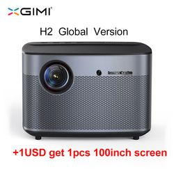 XGIMI H2 DLP Projektor Full HD 1080 P 1350 Ansi 3D Unterstützung 4 K Video Projecteur Android Wifi Home Theater beamer XGIMI H1 Upgrade