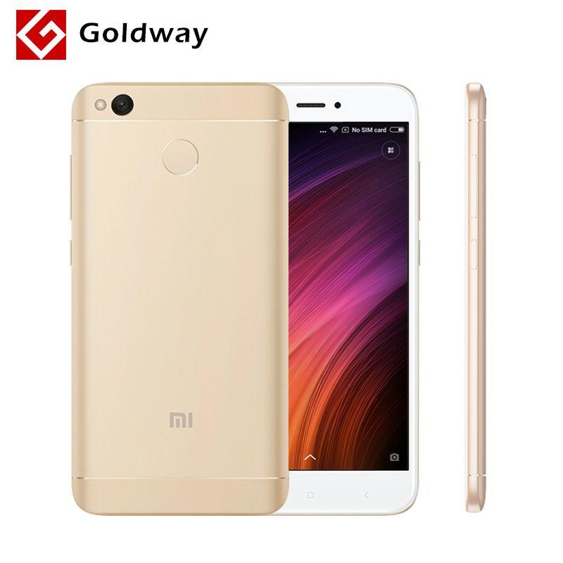 Original Xiaomi Redmi 4X 4 X 2GB RAM 16GB ROM Mobile Phone Snapdragon 435 Octa Core 5.0