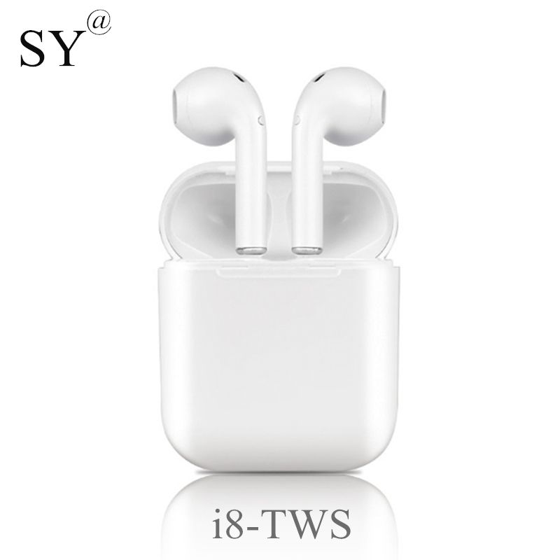 Newest Mini i8-tws Bluetooth Earphone with Charging Box Sport Headphones wireless Earbuds Headset i8x for iPhone All Smart Phone