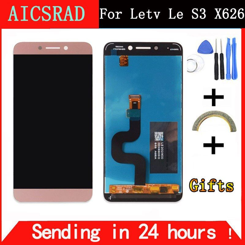 For <font><b>LeEco</b></font> Le S3 X626 LCD Display Screen <font><b>Leeco</b></font> X622 Display Screen Tested Screen Replacement for <font><b>LeEco</b></font> Le S3 X622 X626 X522 5.5''