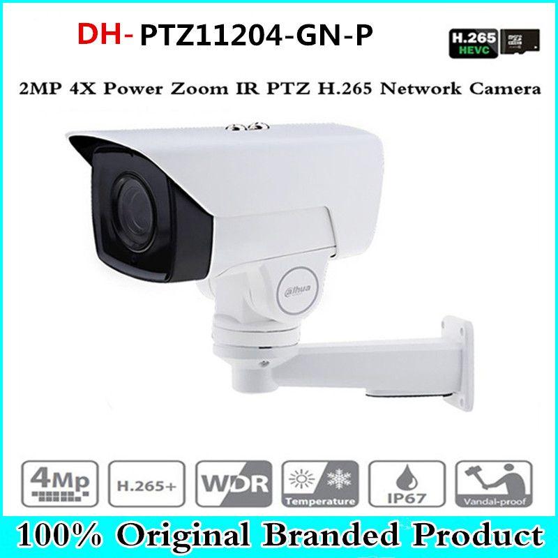 DH PTZ11204-GN-P 4X PTZ IP Camera 2MP POE bullet Motorized 2.8-11.2mm H.265 IR 60M IP67 Bracket CCTV Security DH-PTZ11204-GN-P