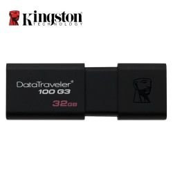 Kingston USB 3.0 Pen Drive 16GB 32GB 64GB 128GB USB Flash Drive Mental Pendrive Stick Ring Memory Flash Memoria USB DT100G3