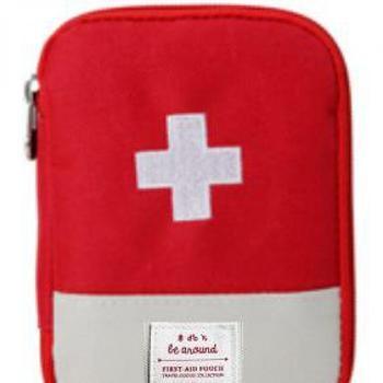 Nouveau Corée Du Sud Voyage Accueil Portable de premiers soins Sac Pour Transporter Petite Trousse Médicale D'urgence de premiers secours Kits