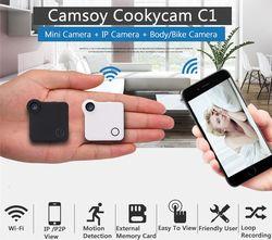 C1 Mini Web Camera WIFI P2P IP Mini Camera DV Video Recorder Multi Portable Camera HD 720P H.264 Micro DVR Action Camera