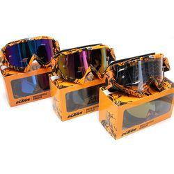 Marque KTM Motocross lunettes VTT DH VTT Dirt Bike Lunettes Oculos Antiparras Lunettes motocross lunettes de Soleil Utiliser Pour Moto Casque