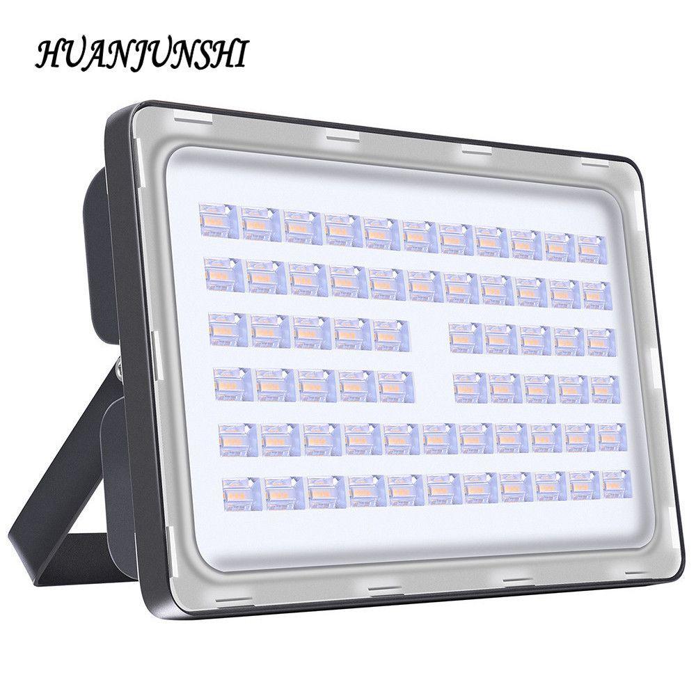 Chaud 200 W assez Watt AC 220 V haute luminosité projecteur extérieur LED étanche lumière d'inondation 100 W 150 W 200 W éclairage LED lampes