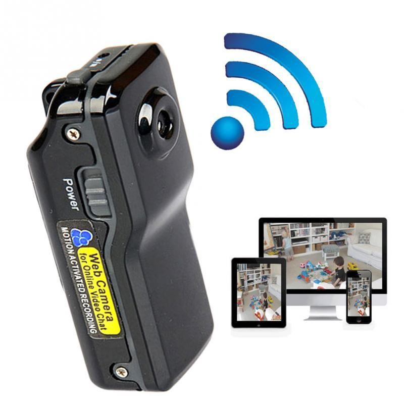Nuevo Mini WiFi Cámara IP Inalámbrica MD81 HD videocámara Grabación de Vídeo hd wifi Remoto por Teléfono de bolsillo Portátil