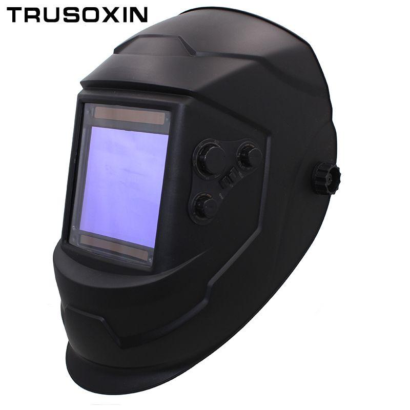 Big View Eara 4 Arc Sensor DIN5-DIN13 <font><b>Solar</b></font> Auto Darkening TIG MIG MMA Welding Mask/Helmet/Welder Cap/Lens/Face mask/Goggles