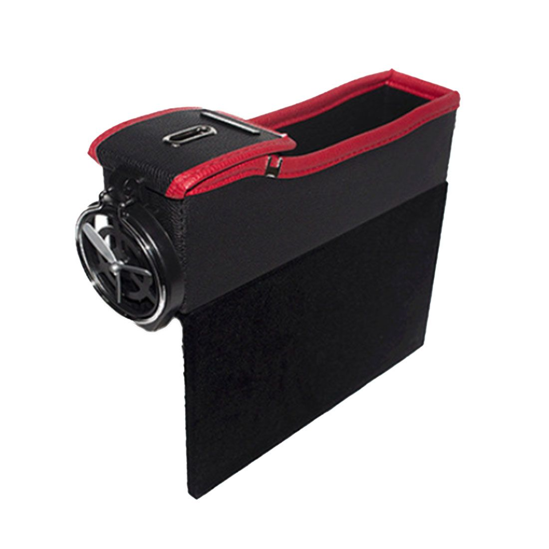 Dewtreetali Car Seat Crevice Storage Box Grain Organizer Gap Slit filler Holder Wallet Phone Coins Cigarette Pocket Accessories