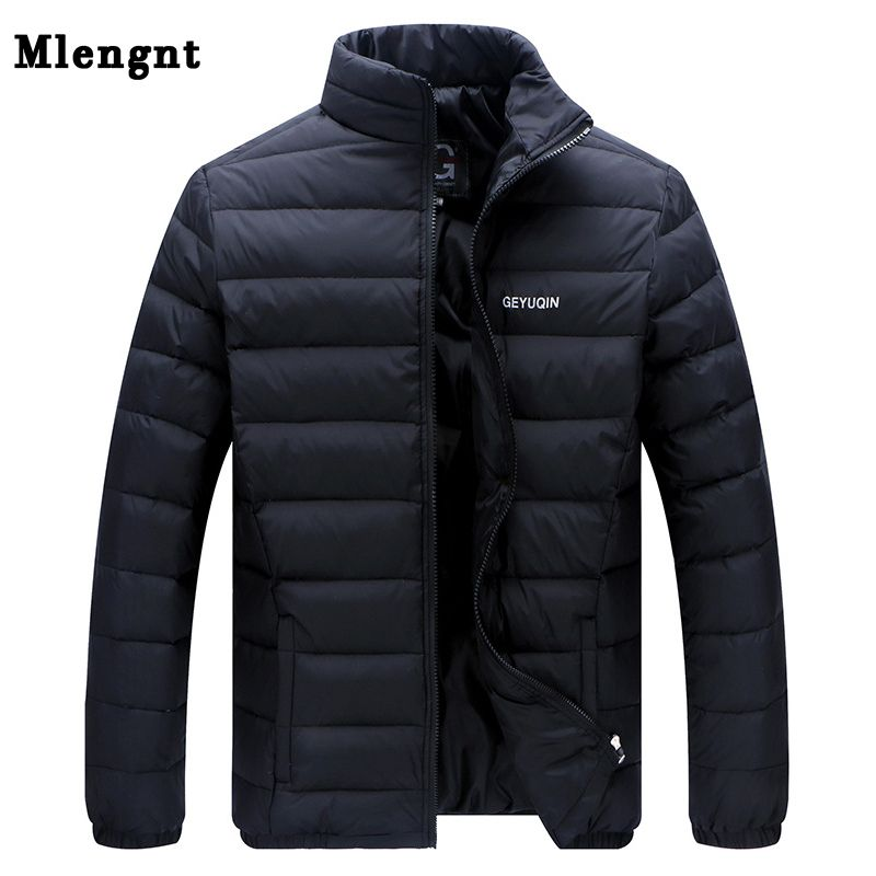 Big Size 2018 White Duck Down Men's Winter Jacket Ultralight Down Jacket Casual Outerwear Snow Warm Fur Collar Brand Coat Parkas