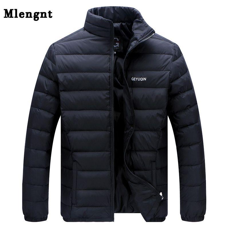 Big Size 2018 White Duck Down Men's Winter Jacket Ultralight Down Jacket Casual Outerwear Snow Warm Fur Collar Brand Coat Parkas