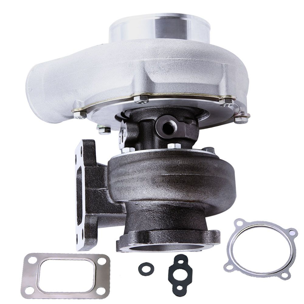Anti Surge GT35 GT3582 A/R 0.70 A/R .63 T3 Flange water Turbo Turbocharger for R32 R33 R34 RB25 RB30 T3 .70 .63 A/R Turbolader