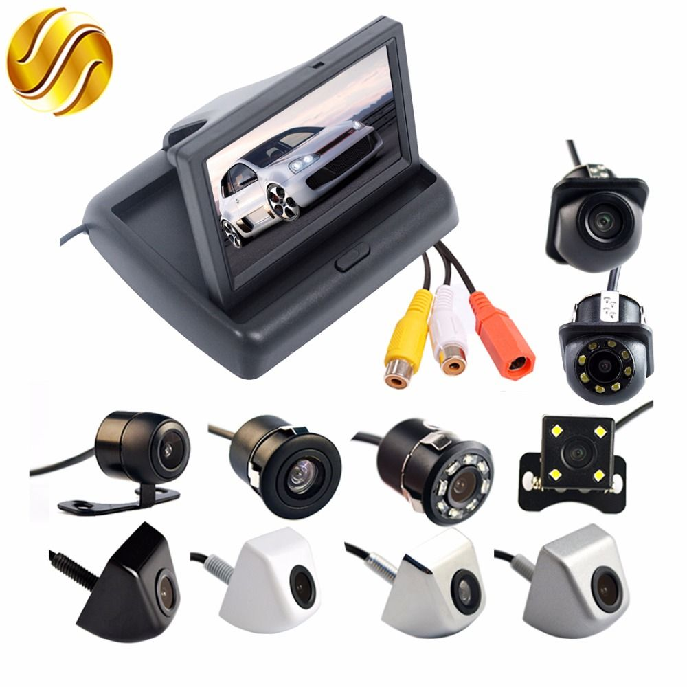 2In1 Car Parking System Kit 4.3