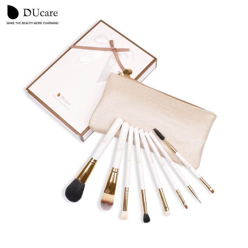 DUcare Pinceau De Maquillage Professionnel Set 8 pièces Outils de Maquillage De Haute Qualité Kit livraison gratuite