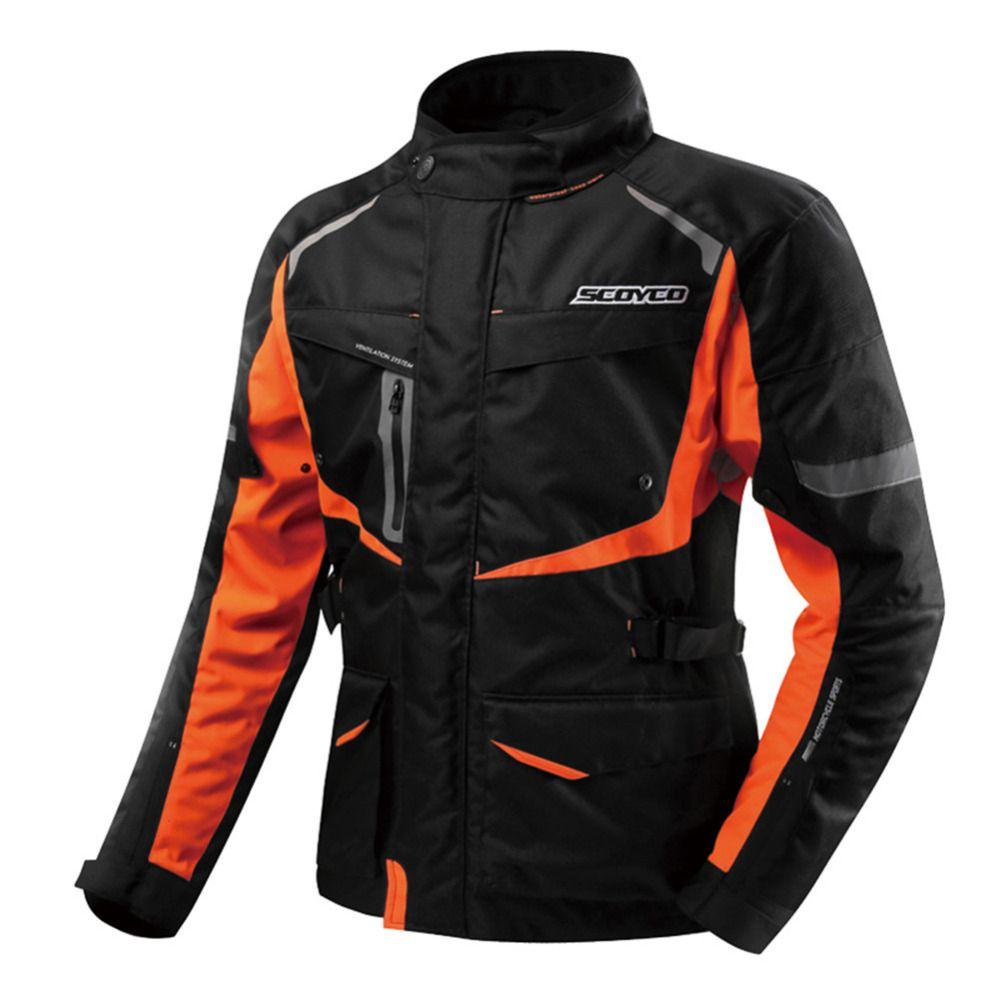SCOYCO Moto D'hiver Veste Chaqueta Moto Jaqueta Motoqueiro Blouson Moto Homme Protection Engrenages Vêtements Armure Motocicleta