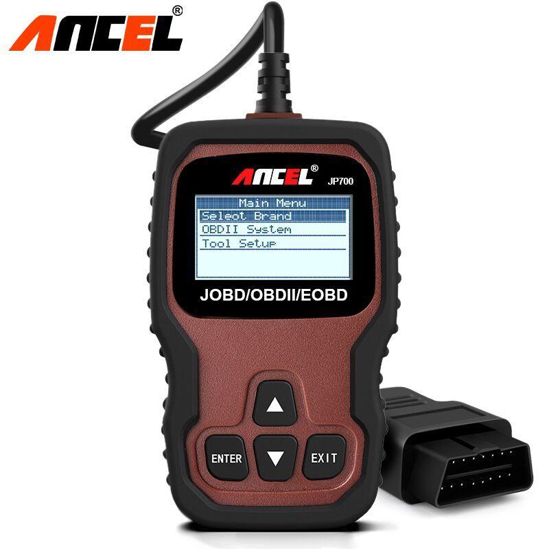 Ancel JP700 OBD2 Auto Automotive Scanner OBD 2 JOBD EOBD for Japanese Car Code Scanner Erase Fault Code Reader Diagnostic Tool