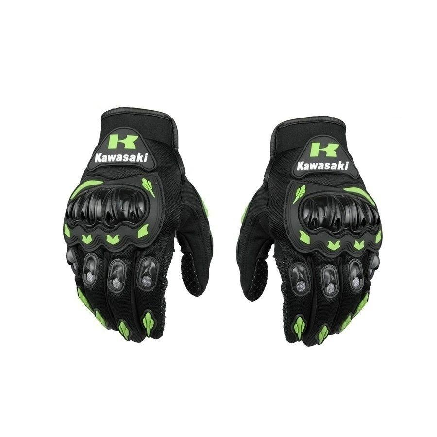Kawasaki Full Finger Motorcycle Gloves Probiker Screen Touch Racing Motocross Motorbike Protective Gear Motor Gloves