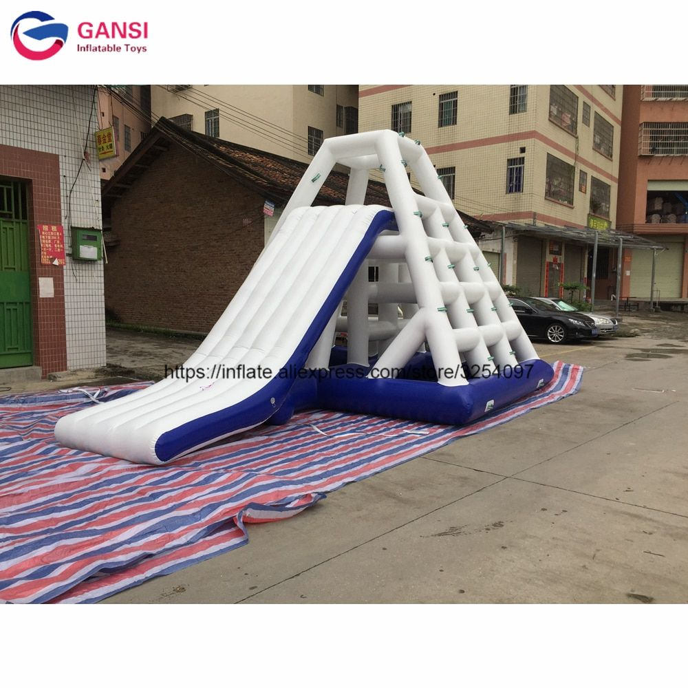 Factory Price 6*4.5*3.6m giant inflatable water park game funnny water slide toys,inflatable water slide clearance for adults