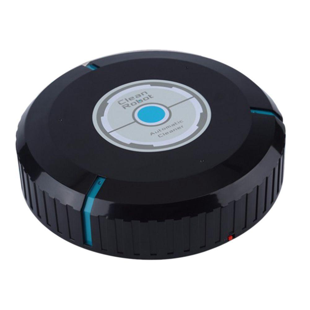 Livraison directe Accueil robot nettoyeur automatique Microfibre Intelligent Robotique balai de nettoyage sol Coins dépoussiéreur Balayeuse aspirateur 2 Couleurs
