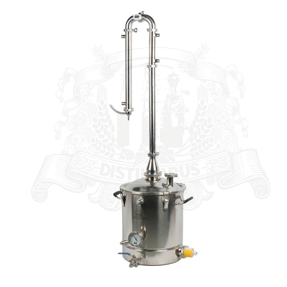 Kit for distillation . 55L Tank with