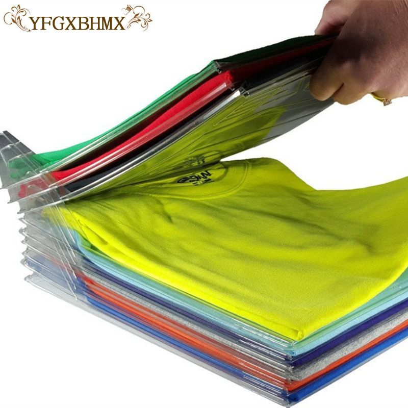 Closet Organizer Shirt Folder and Organizer for Closet Convenient Folding Clothes Board Clothing Storage Rack File Storage Rack
