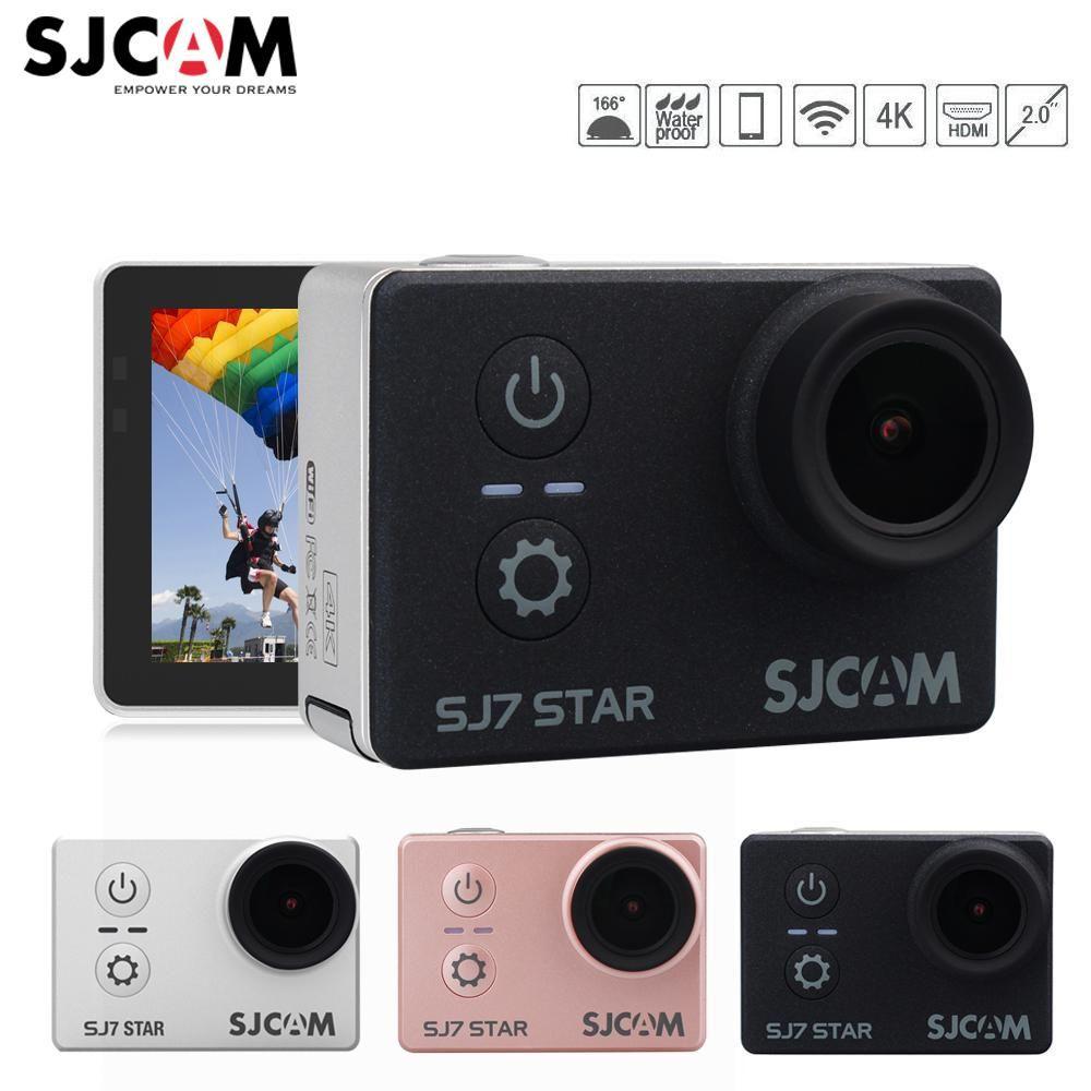 Original SJCAM SJ7 STAR Wifi 4k 2'' Touch Screen Remote Ambarella A12S75 30M Waterproof Sports Action Camera Cam Mini DVR