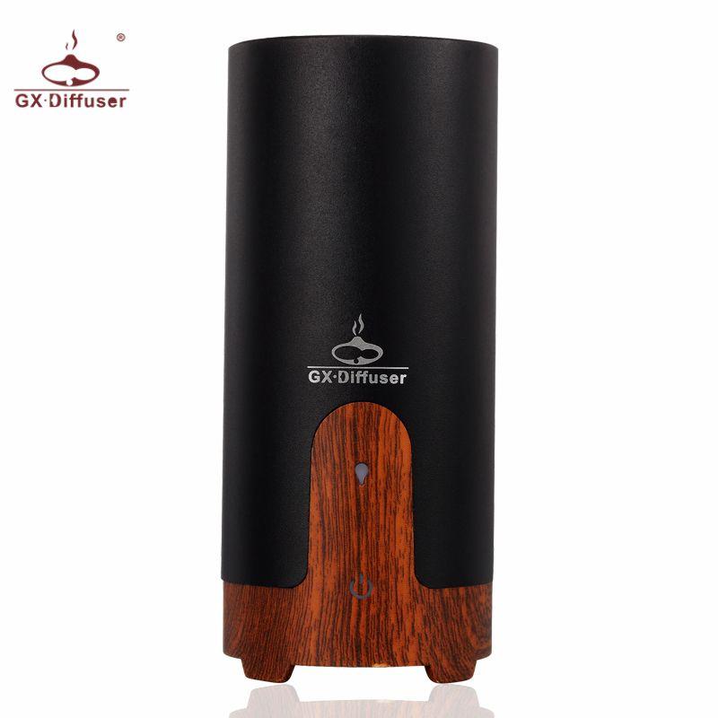 GX Diffuser Car Air Humidifier Aromatherapy Aroma Diffuser USB Ultrasonic Humidifier Essential Oil Diffuser Mist Maker Fogger