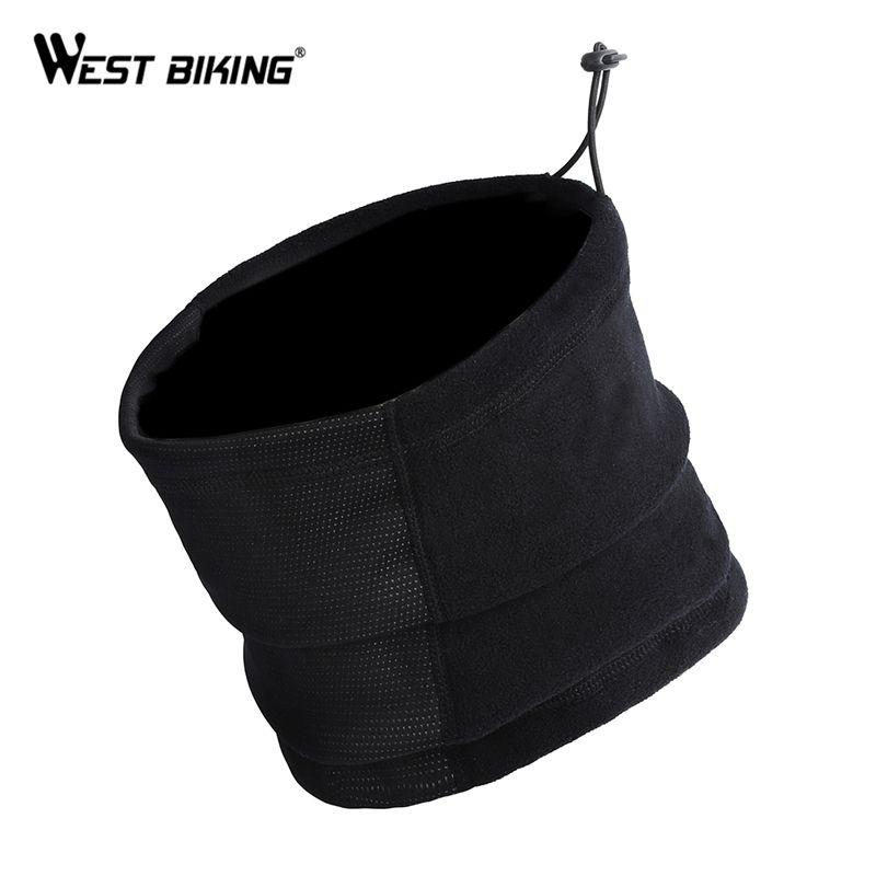 WEST RADFAHREN Winter Radfahren Mask Neck Warmer Cap Oberfläche ist Wasserdicht Anti-fog Reiten 3 Funktionen Fahrrad Schal Radfahren maske