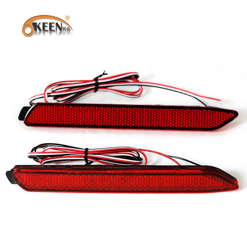 OKEEN for Toyota Camry 2009 2012 LED Brake Rear Bumper Reflector Lamp Tail Brake Light for Innova/ISF/GX470/RX300 Stop Lights