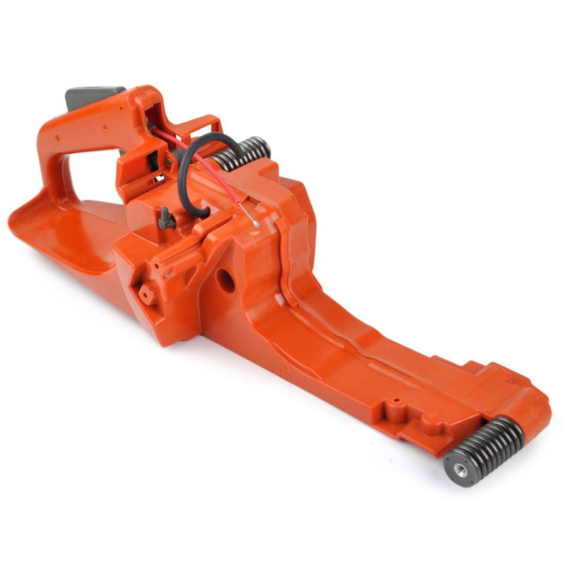 Chainsaw Rear handle Assembly Gas Fuel Tank Back Rear Handle Garden Replacement Tool Accessory Orange