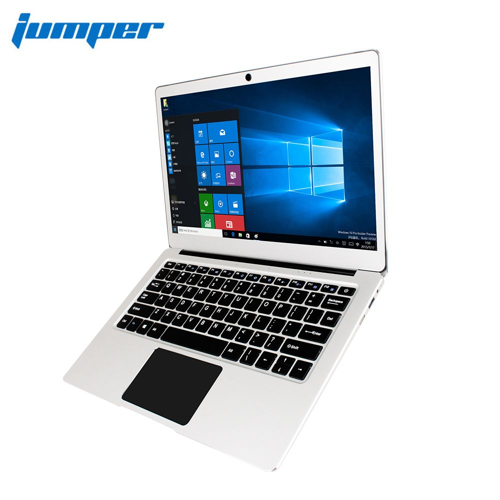 New Version Jumper EZbook 3 Pro Dual Band AC <font><b>Wifi</b></font> laptop with M.2 SATA SSD Slot Apollo Lake N3450 13.3 IPS 6GB 64GB ultrabook