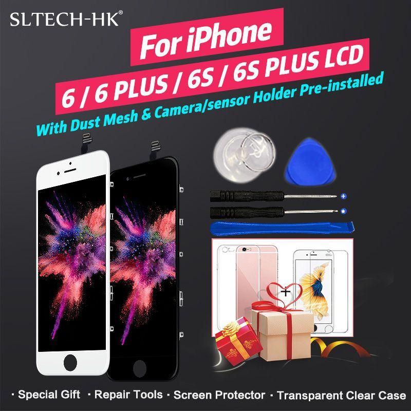 AAA Qualité LCD Pour iPhone 4 55 s 6 Affichage Pour iPhone 66 s Plus LCD Écran Tactile Assemblée de Rechange 100% Nouveau Pas de Dead Pixel Ecran