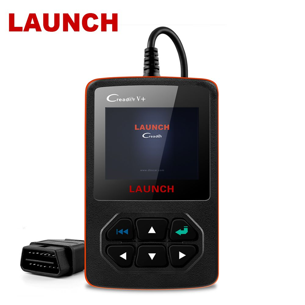 Lancez les outils de lecture de Code de défaut de Scanner automatique de X431 Creader V + OBD2 dans l'outil de Diagnostic russe ODB2 Scanner des véhicules à moteur d'obd OBD 2