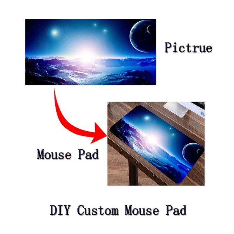Tapis de souris personnalisé Siancs bricolage XL grande grande Mousepad de jeu jeu de gamer Anime sexy japon corée Anime tapis de clavier pour cadeaux de gamer