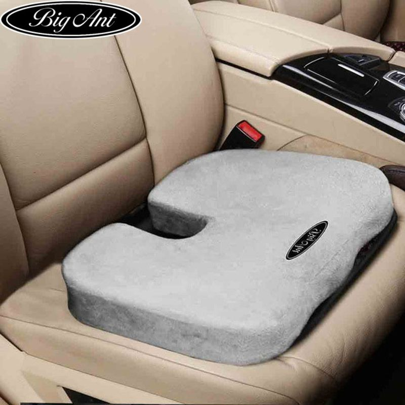 Coccyx Orthopedic Comfort Memory Foam <font><b>Seat</b></font> Cushion for Back Pain and Sciatica Relief - 100% Memory Foam Guaranteed