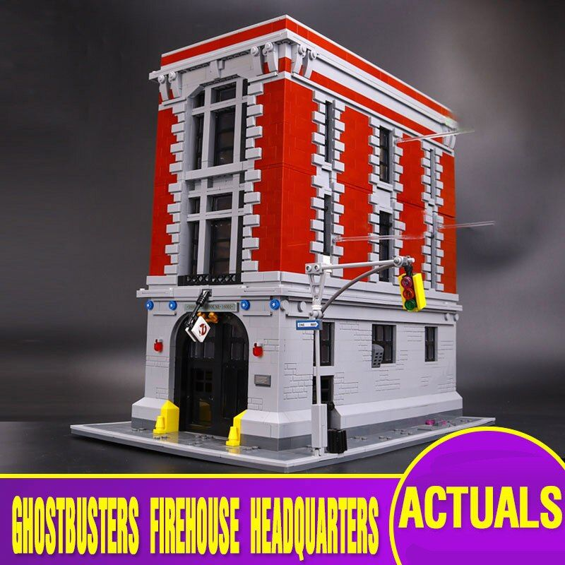 L Model Compatible with Lego L16001 4705Pcs Ghostbusters Models Building Kits Blocks Toys Hobby Hobbies For Boys Girls