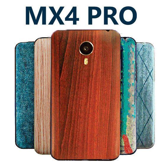Meizu mx4 pro couverture Originale mx4pro Bambou style couvercle de la batterie d'origine couverture arrière de dessin animé peinture mat Peint la couverture de secours