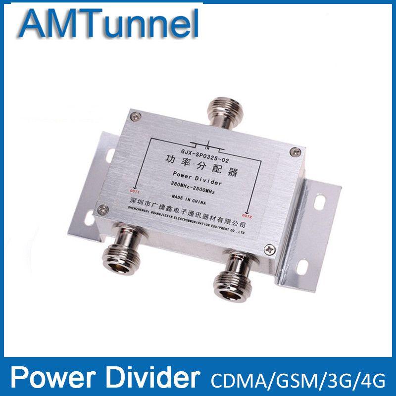 Power splitter 2 3-wege-leistungsteiler 380 ~ 2500 MHz N-buchse für 2G 3G 4G booster repeater verstärker