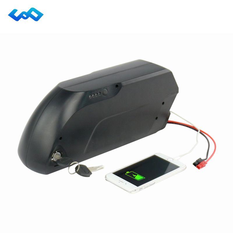 Free Tax Tigershark 48V 17Ah Electric Bicycle Lithium Battery LG 3400mah Cell Bafang BBS02 48V 750W eBike Tiger Battery