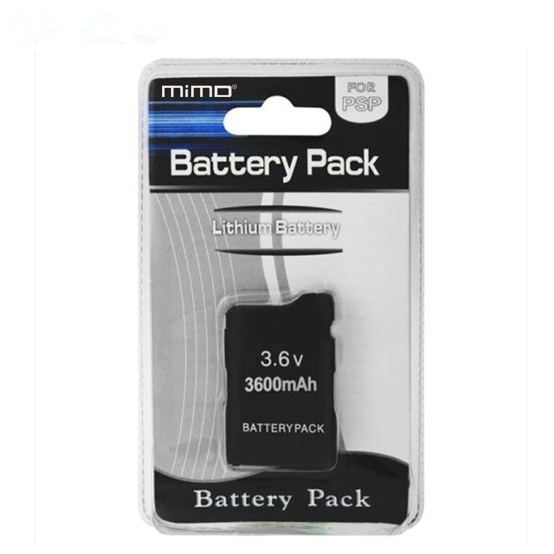 3.6v 3600mah recharger battery for PSP 1000 console