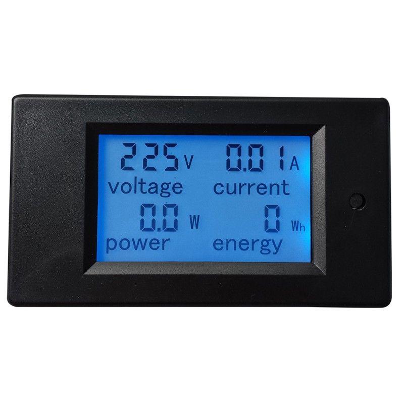 Haute Qualité 1 PC Nouveau 1 pc AC 80-260 V LCD Numérique 20A Volt Watt Power Meter Ampèremètre voltmètre