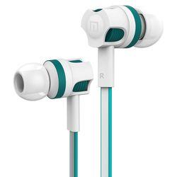 Original Langsdom JM26 Kabel Earphone untuk Ponsel Stereo MIC Bass Earphone Earbud dengan MIC untuk Xiaomi Ponsel dan Eaphone